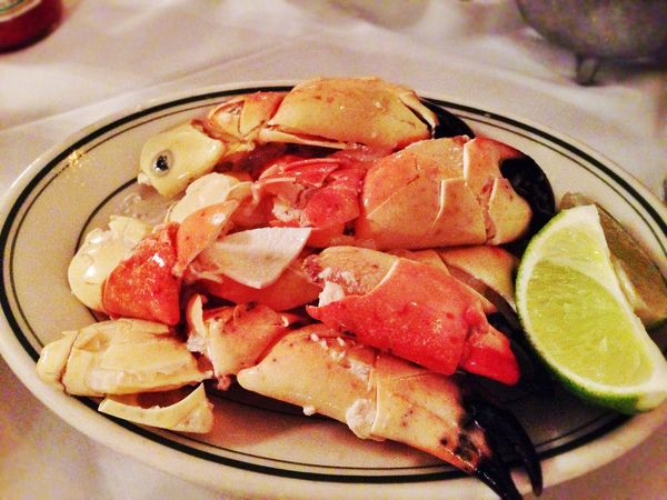 "Stone crabs are the lobster of South Florida. And <a href=""http://www.joesstonecrab.com/"" target=""_blank"">Joe's Stone Crab </"