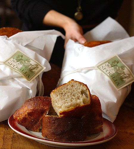 "Yes, it costs <a href=""http://www.sfogliarestaurant.com/nyc/italian_bread.html"" target=""_blank"">$8.50 per loaf</a>. Yes, you"