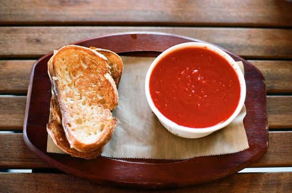 You've probably had grilled cheese. And you've most likely had tomato soup. But until you've had them together, you don't yet