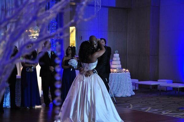 """The first dance at the Mills/Davis wedding."" - @CarlenaMills1"
