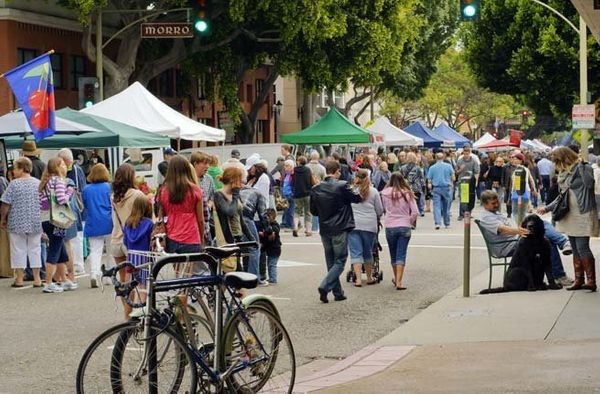 Sandwiched between Los Angeles and San Francisco, San Luis Obispo often gets lost in the shuffle. But the city boasts a rich