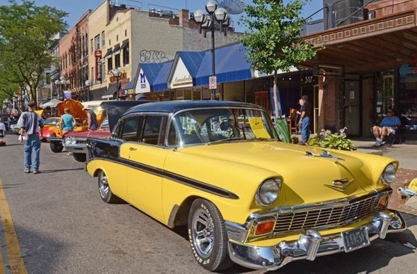 A quintessential college town, Ann Arbor, and its South Main Street reflect a vibrant culture. The city offers something for