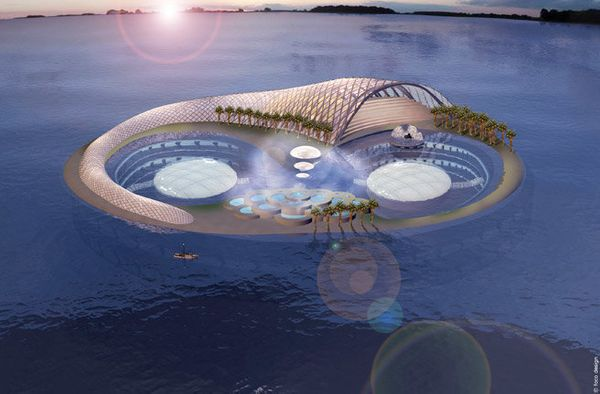 <strong>Where</strong>: Dubai, UAE  Where would they build the most ambitious luxury hotel under the waves? Dubai, of course.
