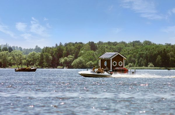 <strong>Where</strong>: Västerås, Sweden   The most rustic underwater hotel of the bunch, the tiny and adorable Utter Inn gen