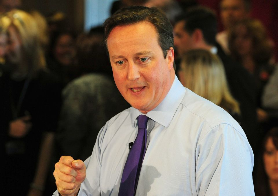 File photo dated 31/10/13 of Prime Minister David Cameron, who has pledged to continue guaranteed rises in the basic state pe