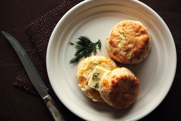 "<strong>Get the <a href=""http://www.pastryaffair.com/blog/2012/1/26/cheddar-dill-biscuits.html"" target=""_blank"">Cheddar Dill"