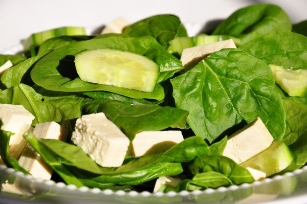 <strong>Skip:</strong> Bland blocks of tofu <br><br><strong>Scoop:</strong> We know croutons aren't exactly diet-friendly, bu