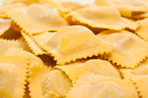 These Italian pasta pillows can be filled with vegetables, meat, cheese or a combination of all three. It goes without saying