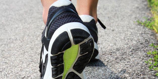close up of women's running...