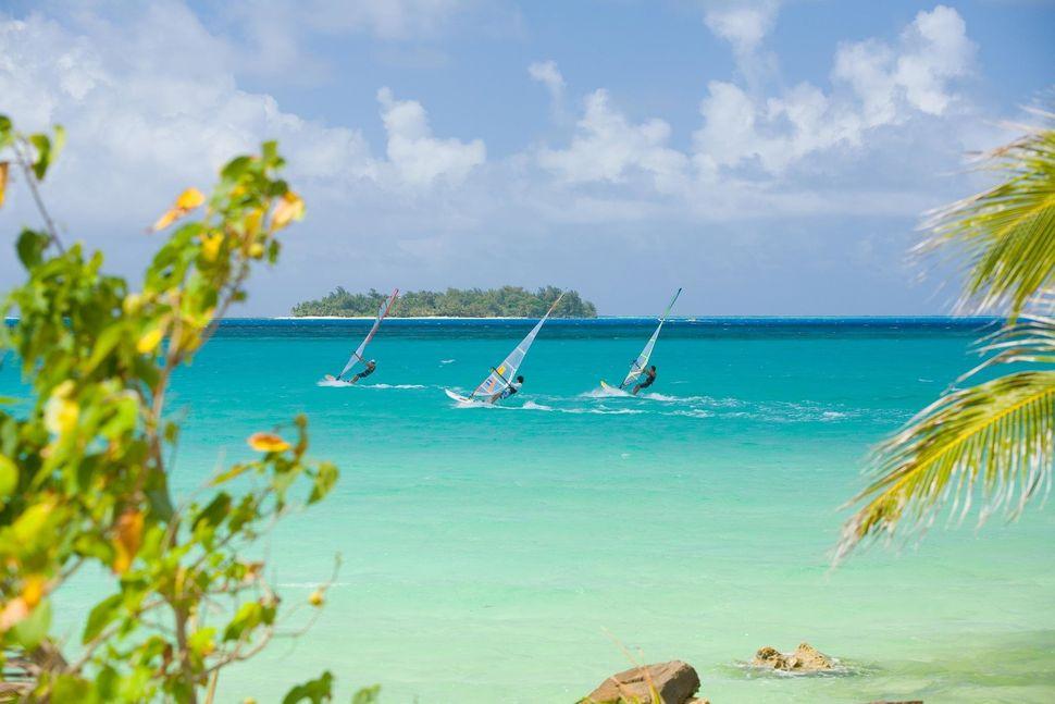 "Saipan has world-class windsurfing and hosts what <a href=""http://actionasia.com/articles/saipan-windsurfing"" target=""_blank"""