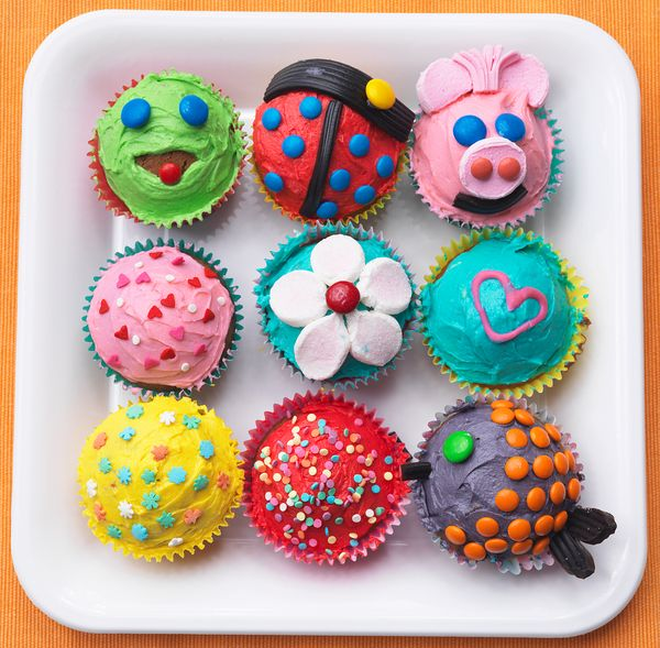 Cupcakes decorated with footballs are passable, but not encouraged.