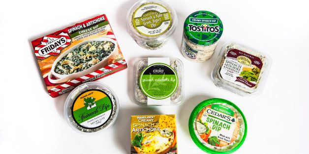Taste Test The Best And Worst Store Bought Spinach Dips Huffpost Life