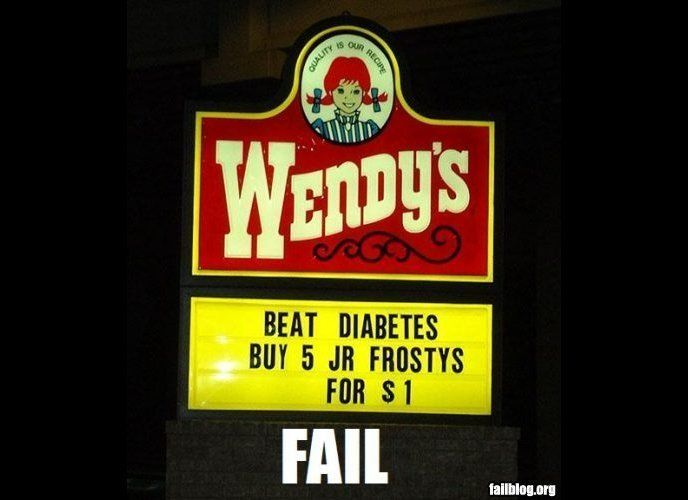 "By ""beat"" they must have meant ""contract."" (<a href=""http://failblog.org/2008/08/06/wendys-fail/"" target=""_hplink"">via FAILBl"