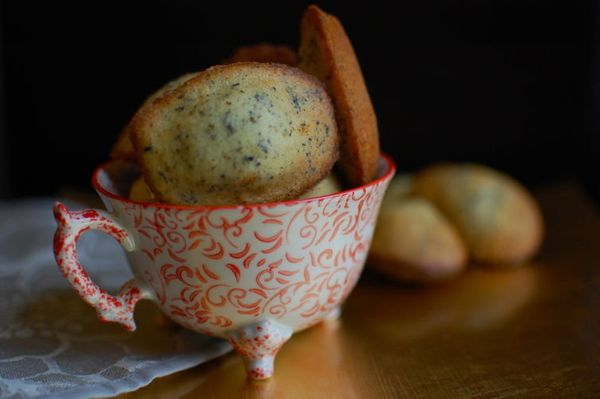 "<strong>Get the <a href=""http://food52.com/recipes/21526-earl-grey-madeleines"" target=""_blank"">Earl Grey Madeleines recipe </"