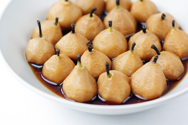 "<strong>Get the <a href=""http://www.citrusandcandy.com/2011/05/earl-grey-poached-pears.html"" target=""_blank"">French Earl Grey"