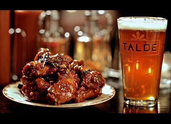 <strong>Talde, Brooklyn (New York)</strong>  Kung Pao Chicken Wings: Brooklyn chef-restaurateur Dale Talde drew inspiration
