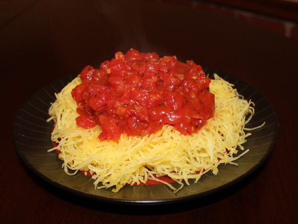 """Spaghetti squash is a great substitute for spaghetti!"" Anyone who has ever told you this lie didn't love you."