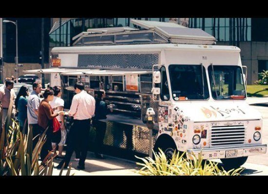 Though it's tough to pinpoint which city officially jumpstarted the food truck trend, we're going to throw L.A. a bone for co