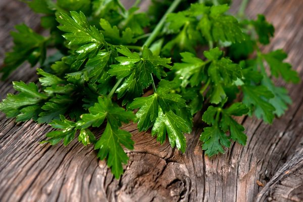 Just because you hate cilantro, doesn't mean you can add in parsley. If you're going to add an herb to guacamole, make sure i