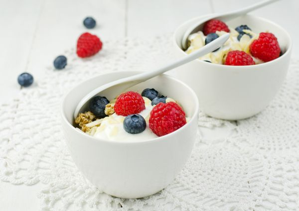 <strong>The body benefit:</strong> The concoction at the bottom of yogurt containers is typically more sugar than fruit. Slic