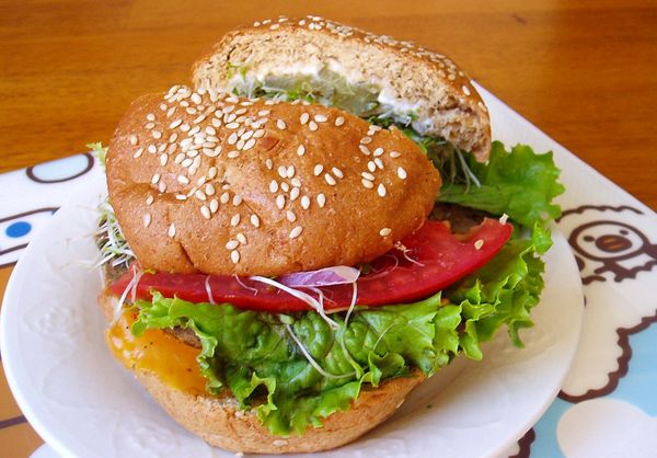 <strong>The body benefit:</strong> While they both come in at about 150 calories per serving, a whole-grain bun has several a