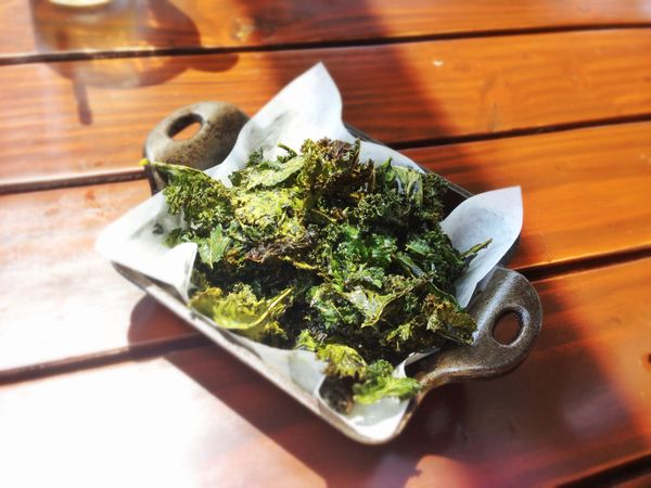 <strong>The body benefit:</strong> You can eat a cup and a half of kale chips for just 84 calories, while the same amount of
