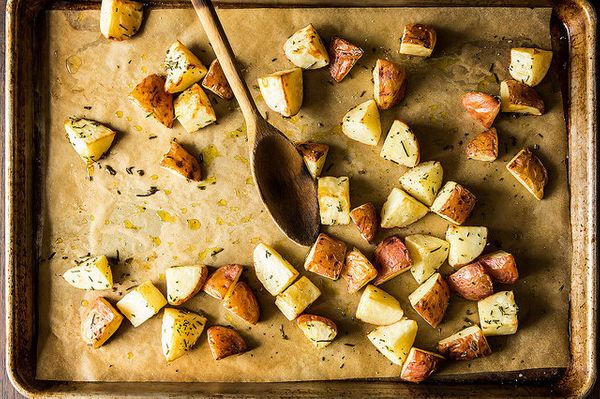 """Even when you just roast vegetables. (BTW, this takes about <a href=""""http://www.huffingtonpost.com/food-52/how-to-roast-any-v"""