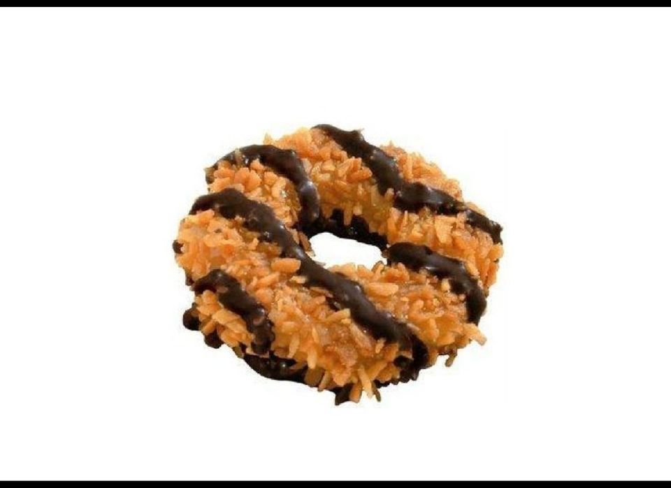 Samoas have been offered since the mid-1970s. They are the second most-popular Girl Scout cookie, no doubt thanks to the cara