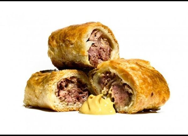 Pigs in Sleeping Bags jazz up the same old, same old with a handmade sausage mix wrapped in premade puff pastry. And they're