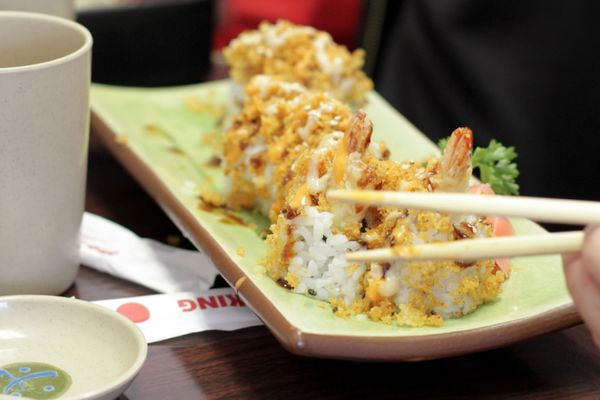 """Follow the old adage 'moderation is key,'"" says Jeffery Lunak, vice president of culinary at Blue C Sushi in Seattle. ""Sushi"
