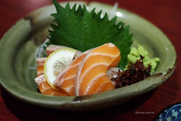 A few pieces of protein-packed sashimi (raw fish) -- about 25 calories a piece -- are among your healthiest bets at the sushi