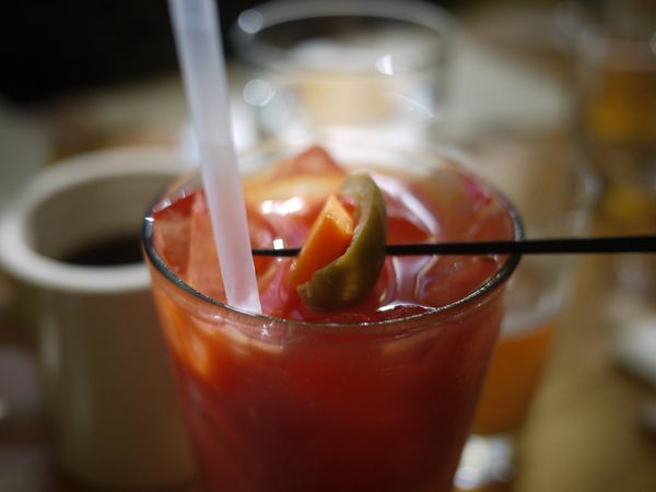 Bloody Mary's, mimosas, beer, it's all expected drinking on the weekend afternoons.