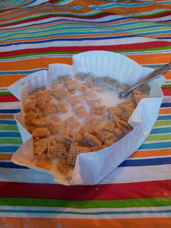 Instead of washing a bowl, you did this.