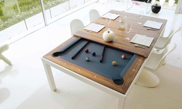 "Just because you barely have room for a couch doesn't mean you shouldn't have  a game room -- <a href=""http://www.fusiontable"
