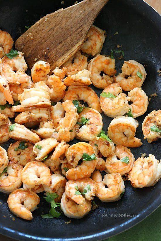 "<strong>Get the <a href=""http://www.skinnytaste.com/2010/03/cilantro-lime-shrimp.html"" target=""_blank"">Cilantro Lime Shrimp</"