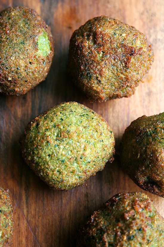 """<strong>Get the <a href=""""http://www.alexandracooks.com/2012/05/09/falafel-with-lima-bean-salad/"""" target=""""_blank"""">Falafal With"""