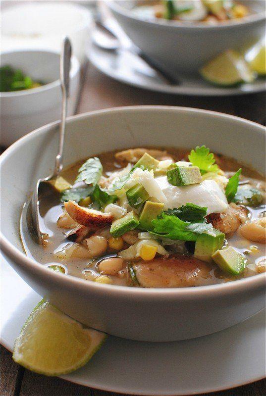 """<strong>Get the <a href=""""http://bevcooks.com/2013/09/salsa-verde-chicken-soup/"""" target=""""_blank"""">Salsa Verde Chicken Soup</a>"""