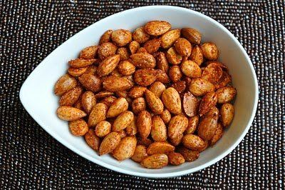 """<strong>Get the <a href=""""http://www.versesfrommykitchen.com/2010/12/sweet-and-salted-almonds-2.html"""" target=""""_blank"""">Sweet An"""