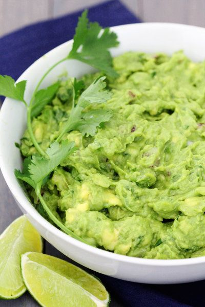 """<strong>Get the <a href=""""http://www.gimmesomeoven.com/perfect-guacamole/"""" target=""""_blank"""">Perfect Guacamole</a> recipe by Gim"""
