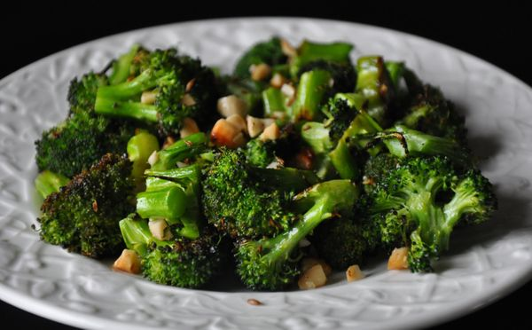 """<strong>Get the <a href=""""http://food52.com/recipes/8688-roasted-broccoli-with-cashews-cumin-and-ghee"""" target=""""_blank"""">Roasted"""