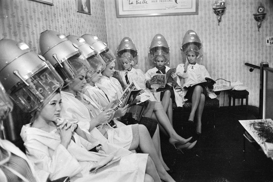 These Vintage Hair Dryer Photos Make It