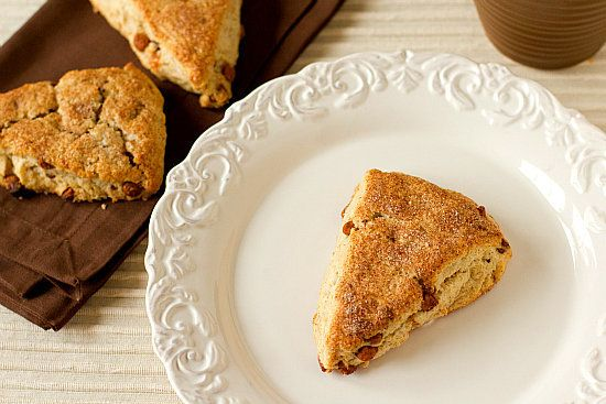 "<strong>Get the <a href=""http://www.browneyedbaker.com/2012/03/26/cinnamon-sugar-scones-recipe/"" target=""_blank"">Cinnamon-Sug"
