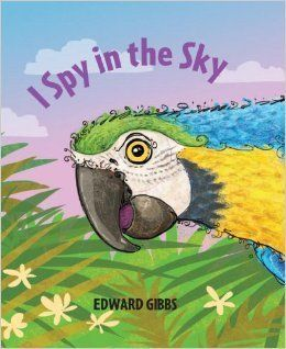 """In this magical """"I spy"""" book, children are encouraged to guess what colorful, exotic and unusual birds are hidden on the next"""