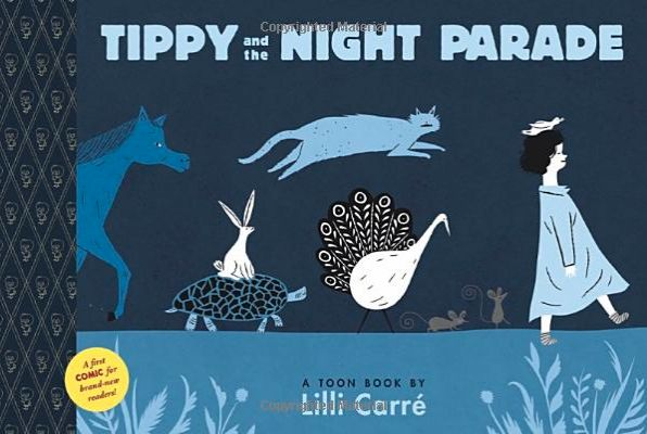 A gorgeous toon book for beginning readers. Tippy has no idea how all these animals got into her room... unless, perhaps, she