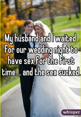 The Truth About Wedding Night Sex Huffpost Life
