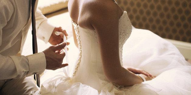 Bride night sex