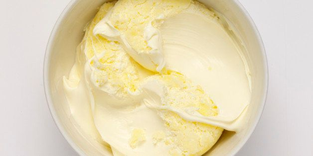 Clotted Cream Where Whipped Cream Meets Butter Recipe Huffpost Life