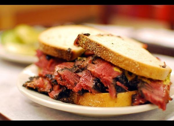 Iconic Katz's Delicatessen is arguably one of the best-known and best-tasting Jewish delis in all of the U.S. It opened its d