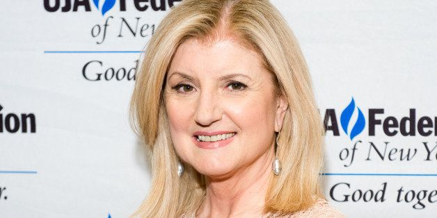 NEW YORK, NY - MARCH 04: Arianna Huffington attends the UJA-Federation's 2014 Digital Media Award Celebration at The Edison Ballroom on March 4, 2014 in New York City. (Photo by Noam Galai/WireImage)