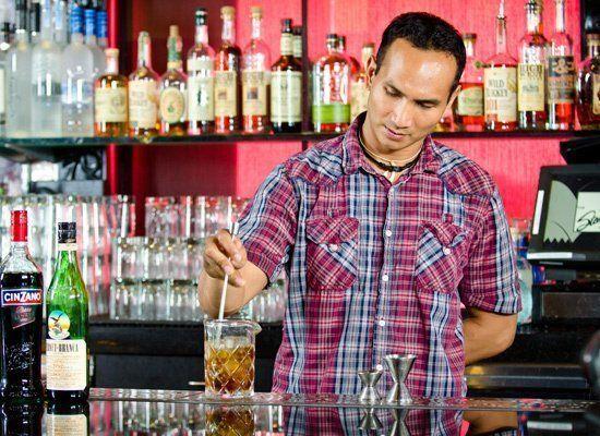"""No matter if you're stirring a <a href=""""http://liquor.com/recipes/manhattan-2/?utm_source=huffpo&utm_med=lnk&utm_campaign=hmb"""